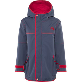 Finkid Tuulis Zip-In Jacket Kids Navy/Red